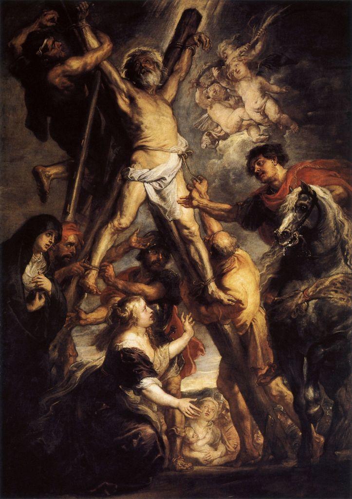 Wikimedia Commons. El Martirio de San Andrés, de Rubens, c. 1638-39