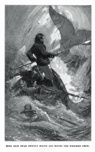 Moby_Dick_final_chase. By I. W. Taber [Public domain], via Wikimedia Commons